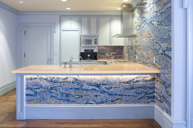 Pacific Heights Residence traditional-kitchen