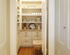 Pantry traditional kitchen