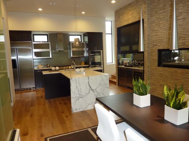 Pacific Northwest Modern Home - Modern - Kitchen - other ...