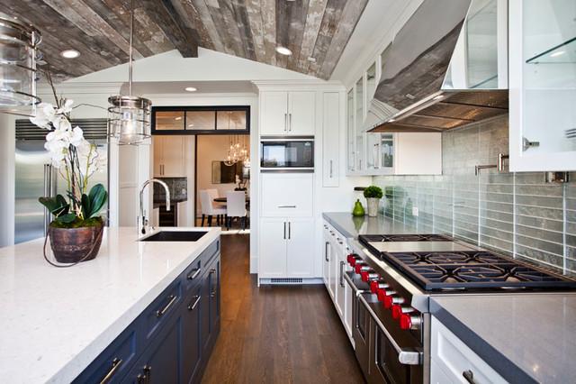 Pacific Palisades transitional-kitchen