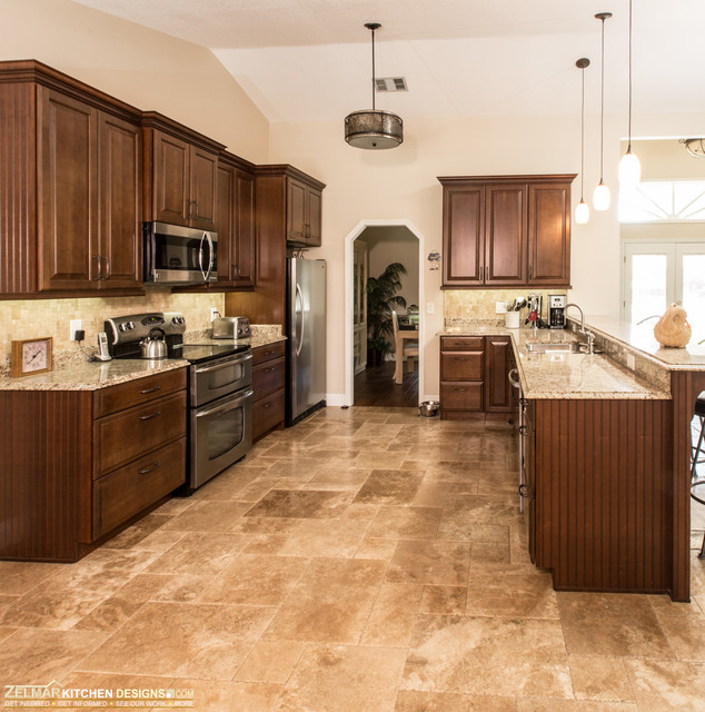 Paddock Waypoint Zelmar Home Remodel Traditional Kitchen Orlando By Zelmar Kitchen