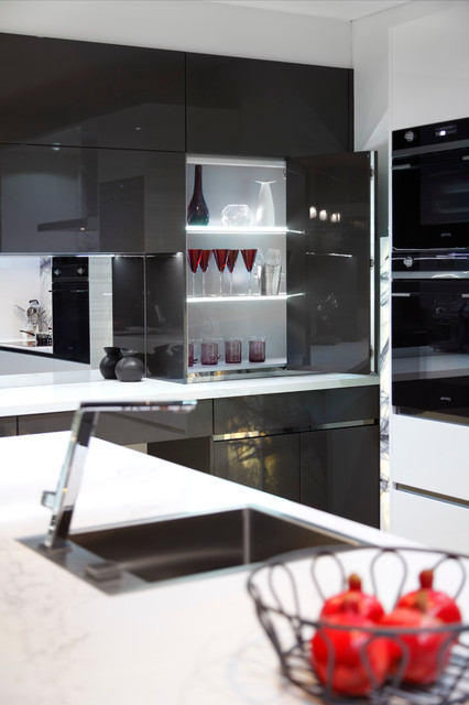 Padstow showroom contemporary kitchen sydney by for Kitchen 87 mount holly