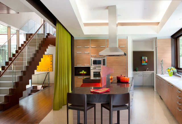 Page Road Residence contemporary-kitchen