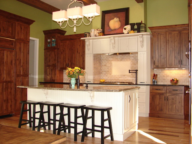 Pagentry, Mountain West Builders - farmhouse - kitchen - denver