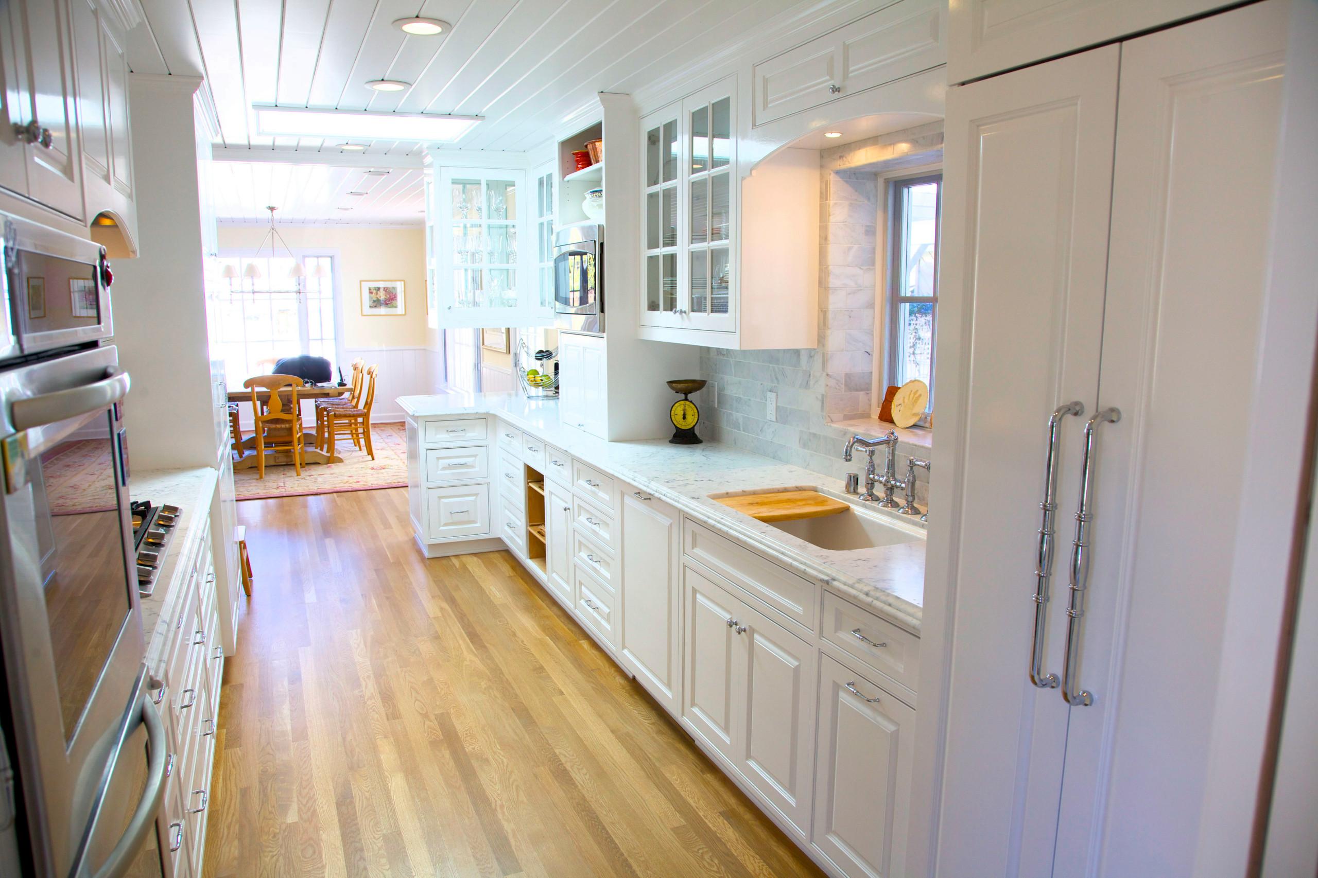 Paint Grade White Kitchen