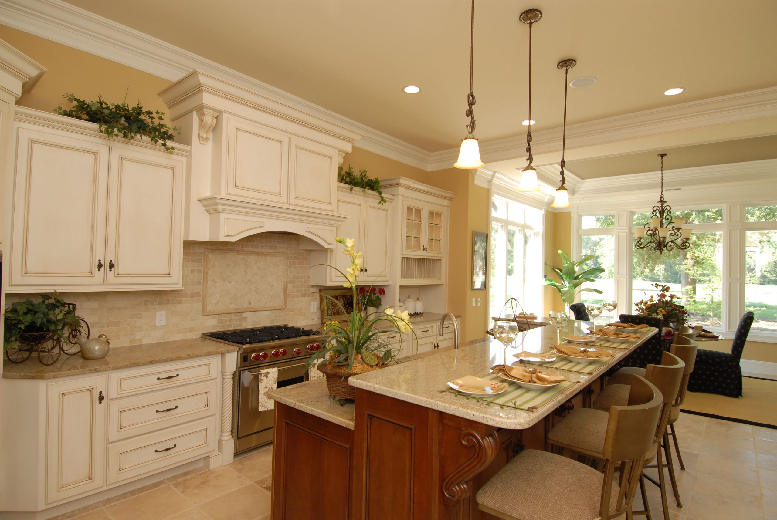 Paint with Glaze Cabinets