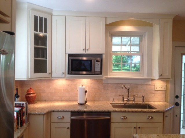 Cliqstudios Kitchen Cabinet Installation Guide Chapter: Painted & Cherry Shaker Kitchen Cabinets