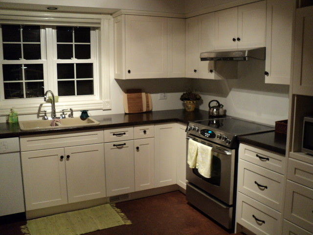 Painted Cabinetry traditional-kitchen