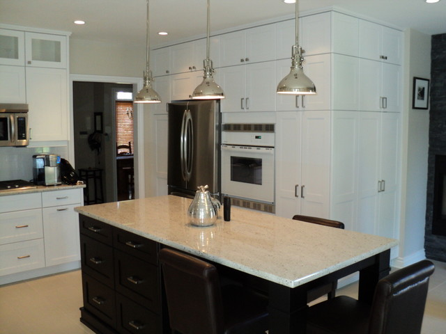 Painted Cabinetry Traditional Kitchen Toronto By Hawkins Cabinetry An