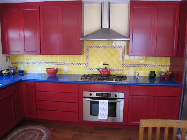 Painted Cabinets traditional-kitchen