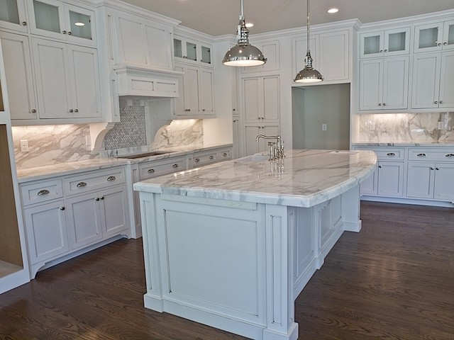 Painted Cabinets - Traditional - Kitchen - salt lake city - by M&M Woods llc