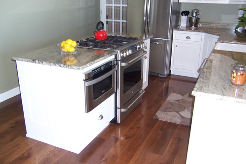 Kitchen Island With Slide In Stove slide in range and kitchen sink