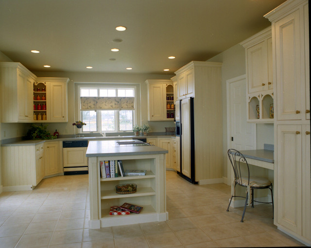 Painted glazed english country style kitchen farmhouse for English country kitchen ideas