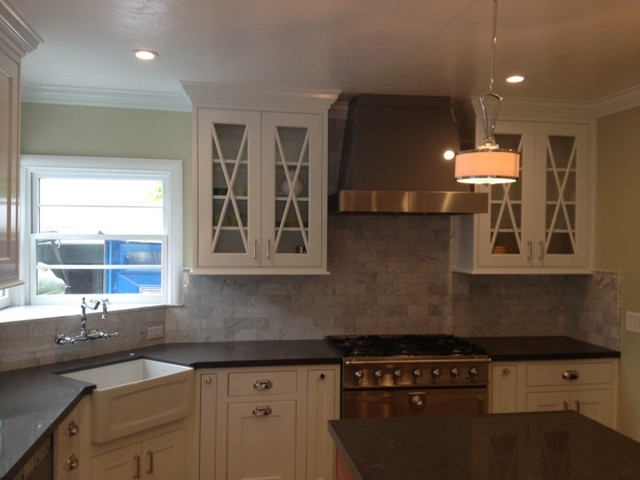 Painted Inset Traditional Kitchen Sacramento By Kitchen Design Center