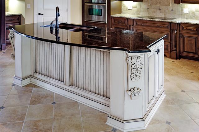 Finish Traditional Kitchen By Kirkland Custom Cabinets Inc