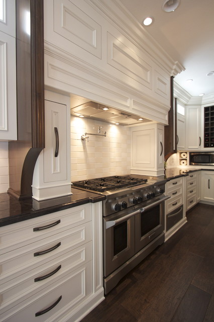 Painted Kitchen Cabinets traditional-kitchen