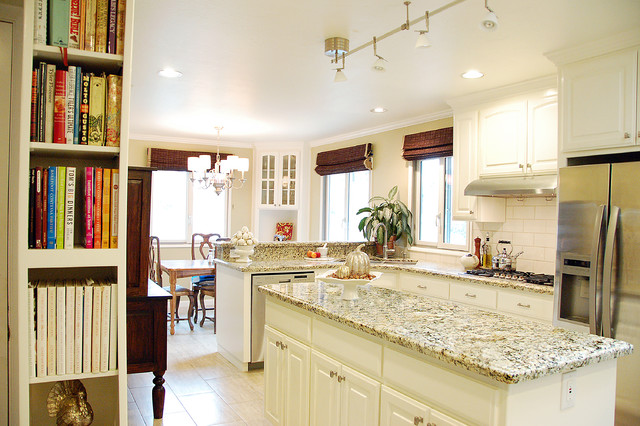 painted oak cabinets traditional kitchen san francisco by