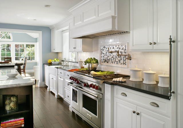 Painted White  Contemporary Traditional  Contemporary  Kitchen