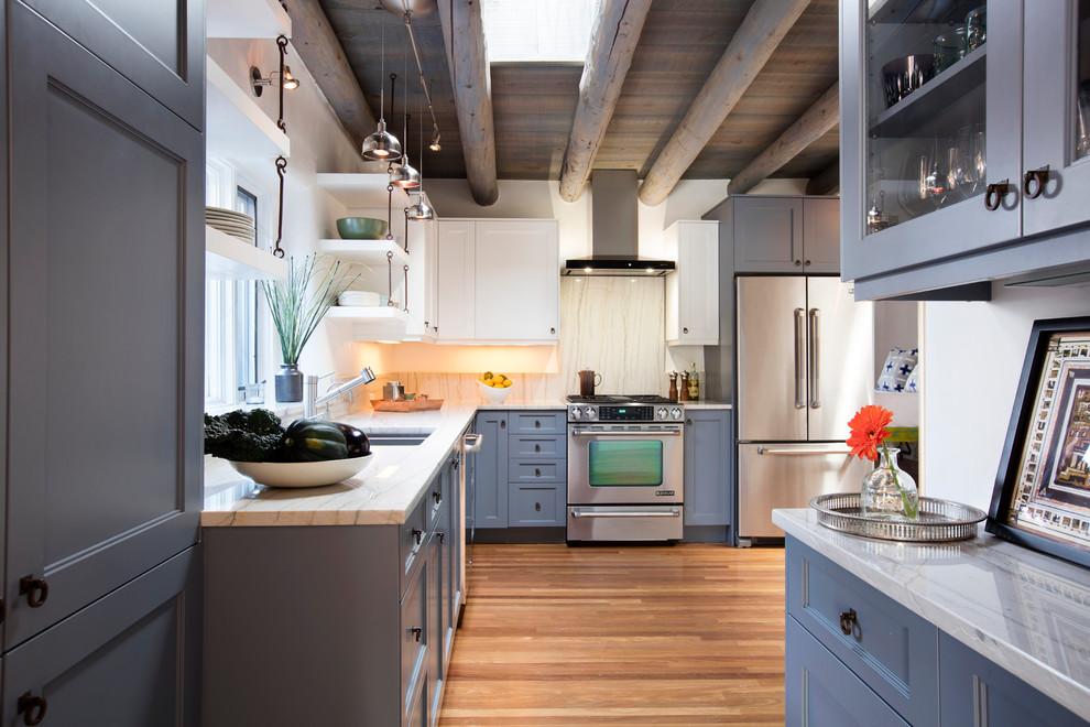 Palace Avenue - Contemporary - Kitchen - Albuquerque - by ...