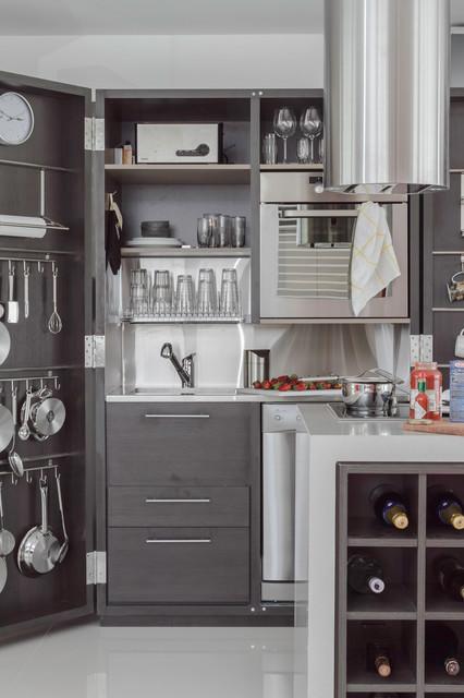 Palermo Loft  Contemporary  Kitchen  Other  by estudio gutman