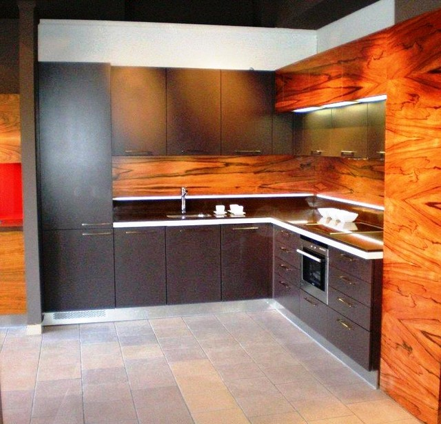 Palisander Exotic Wood Cabinetry Projects Contemporary