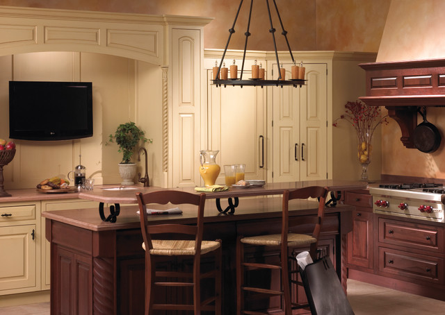 Palladian Panache traditional-kitchen
