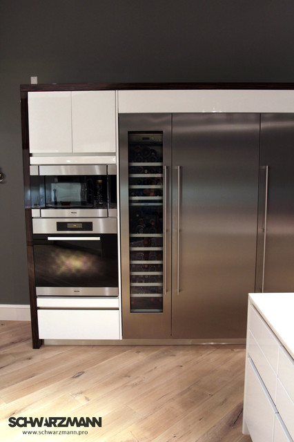 Miele Oven, Steamer, Wine Cooler And Refrigerators