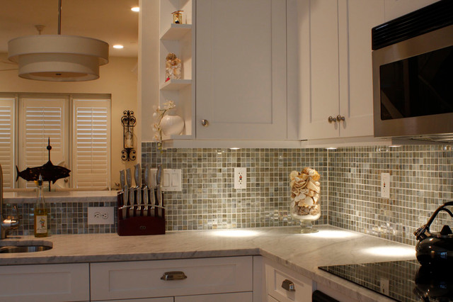 Palm Beach Residence traditional-kitchen
