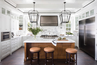 Palm Beach Waterfront Beach Style Kitchen Miami By Knowles Design