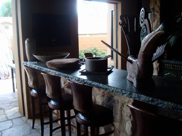 Palm Desert Bali tropical-kitchen