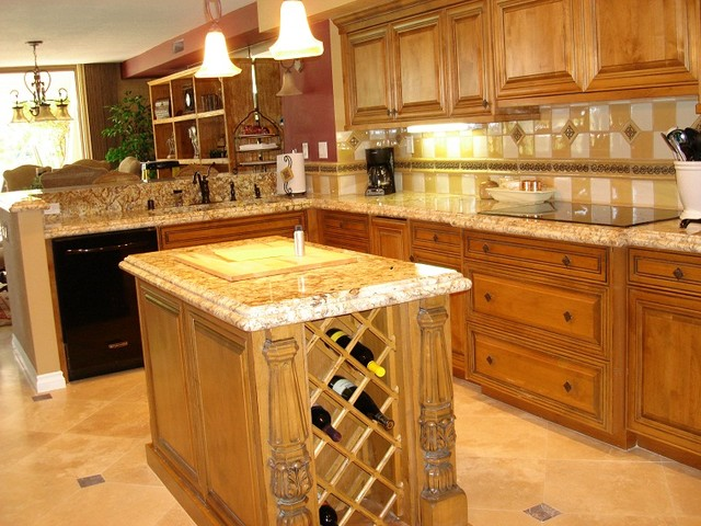 Palm Desert Custom Home Rremodel Traditional Kitchen San Diego By Bsiig Options Online