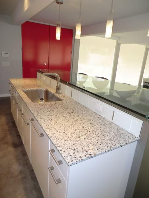 Palm Desert Mid Century Remodel Midcentury Kitchen Los Angeles By Charette Design
