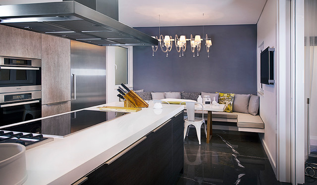 Palm jumeirah villa in dubai modern kitchen other for Kitchen design dubai