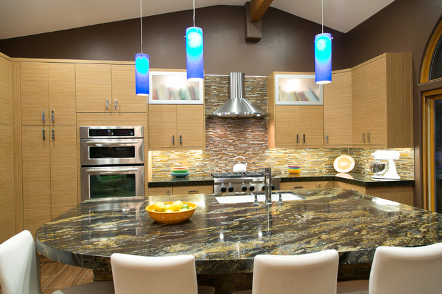 Palm Springs Kitchen & Great Room Remodel midcentury-kitchen