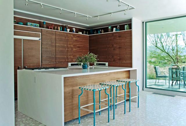 Palm Springs Modern Kitchen Cabinets Modern Kitchen Los Angeles By Romero Obeji Interior Design