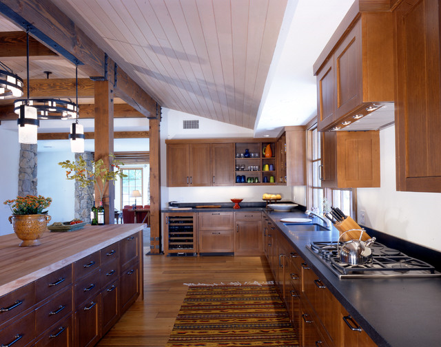 Palm Springs Ranch rustic-kitchen