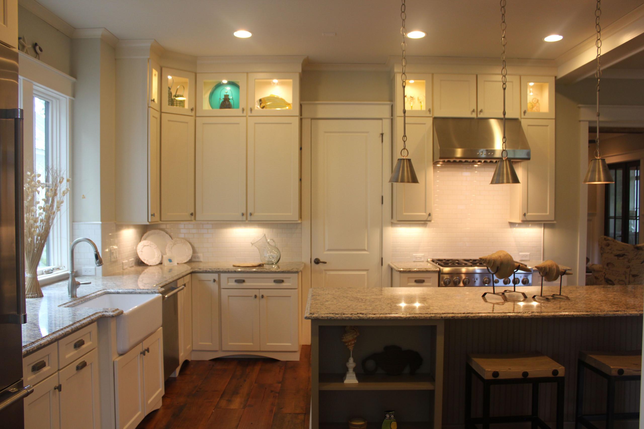 Palmetto Bluff Model Home Kitchen