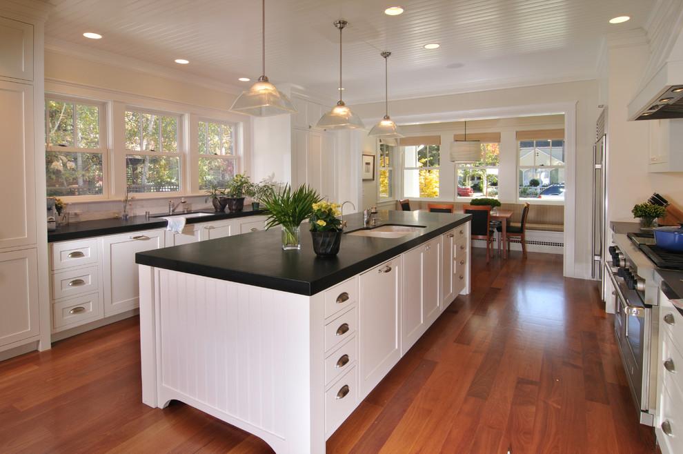 Palo Alto Arts and Crafts - Craftsman - Kitchen - San ...