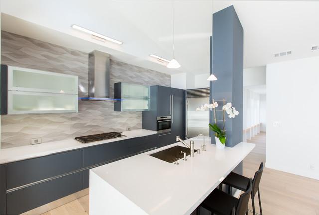 Palo Alto Contemporary 2015 Contemporary Kitchen San Francisco By Tali Hardonag Architect