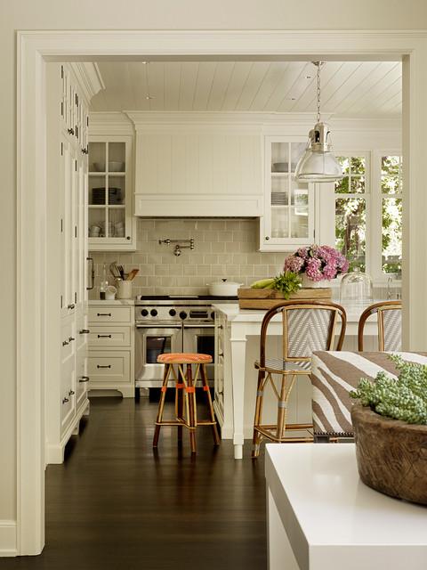 Palo Alto Dutch Colonial Revival Traditional Kitchen San Francisco By Scavullodesign