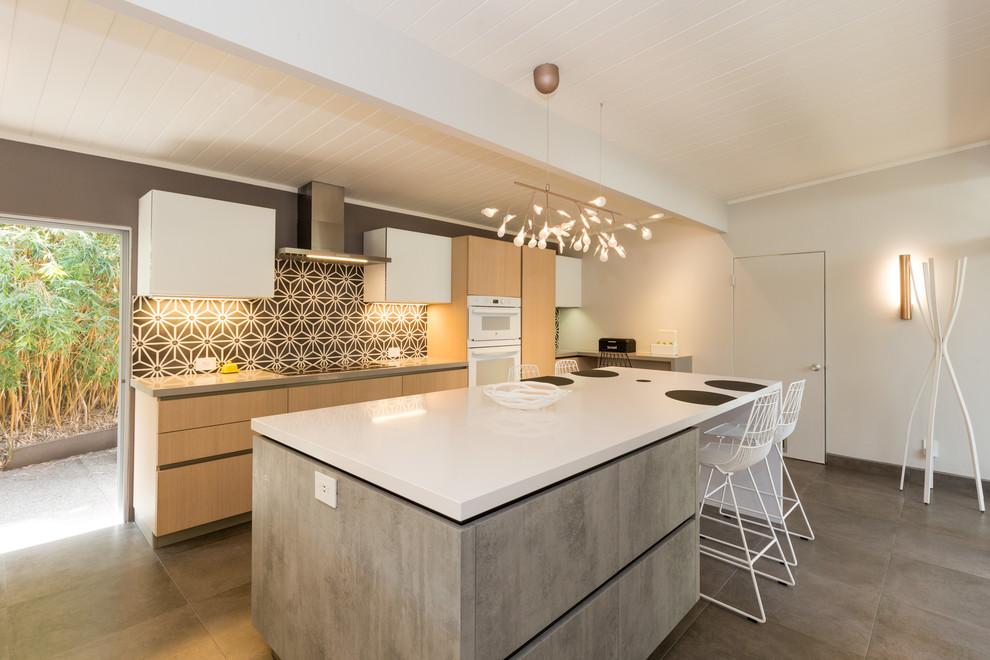 Palo Alto Eichler Kitchen Remodel - Modern - Kitchen - San ...