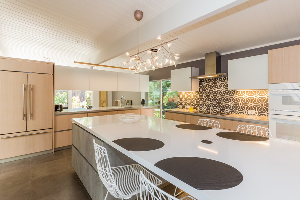 Palo Alto Eichler Kitchen Remodel Modern Kitchen San Francisco By European Cabinets Design Studios