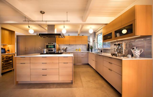 Palo Alto   Eichler Kitchen Remodel midcentury-kitchen