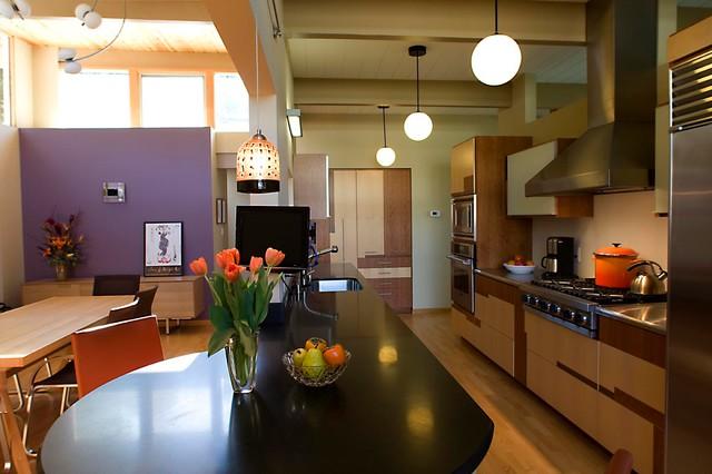 Palo Alto | Eichler | Whole House Remodel midcentury-kitchen