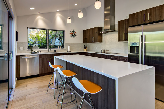 Countertop Dishwasher Brisbane : Palo Alto Kitchen - Midcentury - Kitchen - San Francisco - by Bill Fry ...