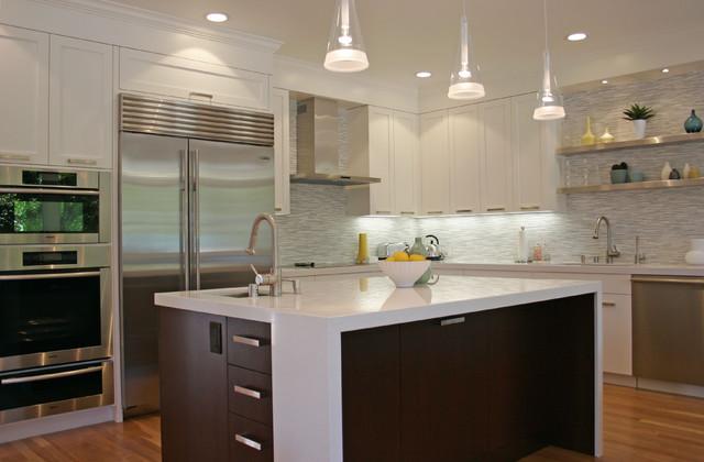 Trend Contemporary Kitchen by Fiorella Design