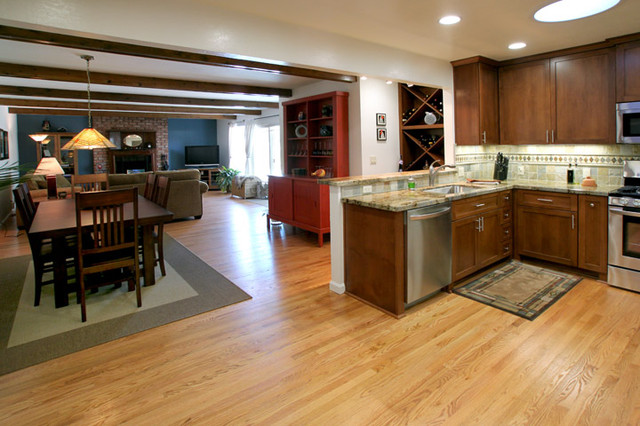C. Kitchen Remodel traditional-kitchen