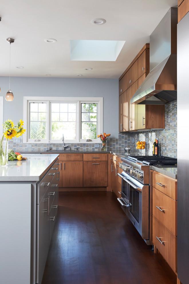 Palo Alto Residence - Contemporary - Kitchen - San ...