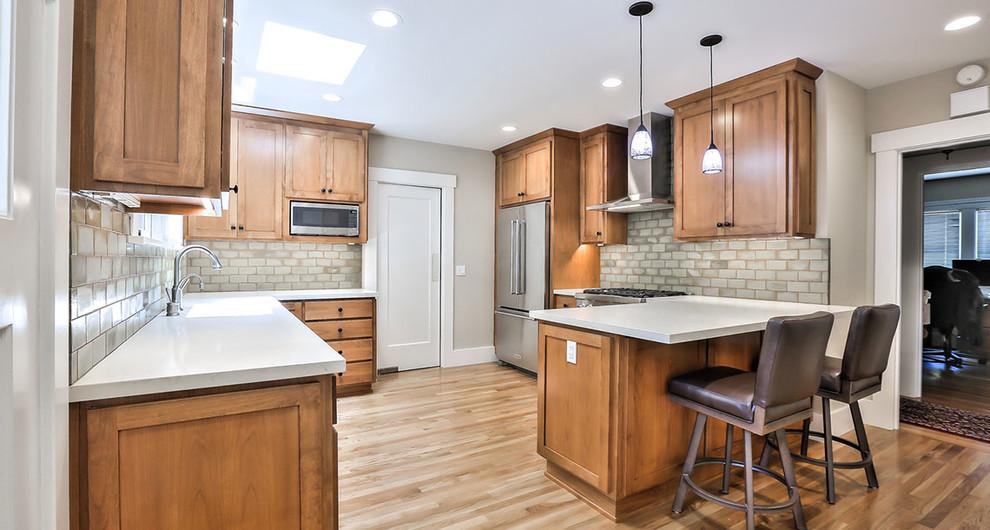 Palo Alto Transitional Kitchen Remodel - Transitional ...