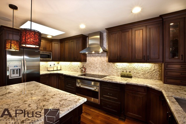 Paloma - Traditional - Kitchen - Orange County - by APlus Interior Design & Remodeling